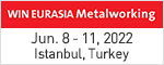 WIN EURASIA Metal Working  Mar. 15 - 18, 2018 Istanbul, Turkey